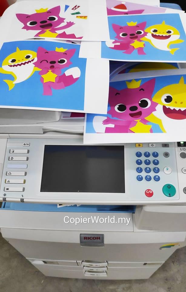 Copier Testing Print & Copy Baby shark, doo doo doo doo doo doo