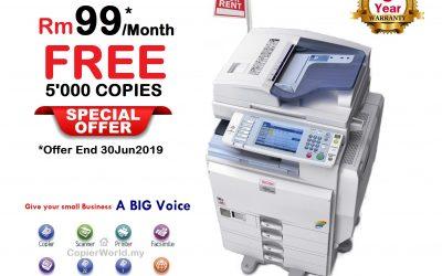Copier Photocopy Rent Copy Print Scan Photocopier Machine Photostat Offer FREE 5000 Copies Print & Copy Solution