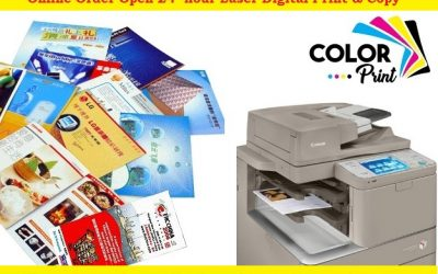 We offer Document Printing Such as Brochures Flyers Color Print A4-A3 size Good Color Quality Laser Digital Print by All In One Copier