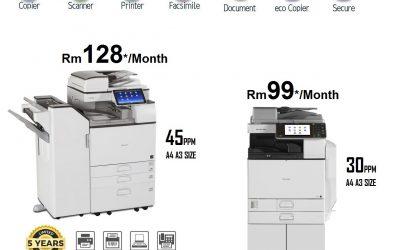 Printer and PhotoCopier Short Term Rental Service